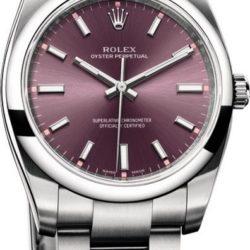 Ремонт часов Rolex 114200 rose Oyster Perpetual 34 mm Steel в мастерской на Неглинной