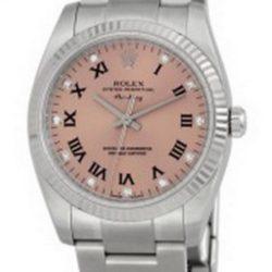 Ремонт часов Rolex 114234 Pink D Oyster Perpetual Air-King 34mm Steel and White Gold в мастерской на Неглинной