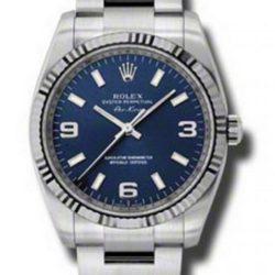 Ремонт часов Rolex 114234 blao Oyster Perpetual Air-King 34mm Steel and White Gold в мастерской на Неглинной
