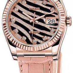 Ремонт часов Rolex 116135 Datejust Ladies Royal Pink 36mm Everose Gold в мастерской на Неглинной