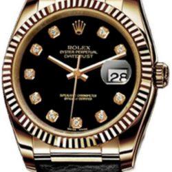 Ремонт часов Rolex 116138 black diamonds Datejust Yellow Gold в мастерской на Неглинной