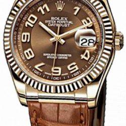Ремонт часов Rolex 116138 bronze Datejust Yellow Gold в мастерской на Неглинной