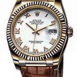 Ремонт часов Rolex 116138 white rome Datejust Yellow Gold в мастерской на Неглинной
