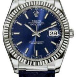 Ремонт часов Rolex 116139 blue Datejust White Gold в мастерской на Неглинной