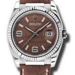 Ремонт часов Rolex 116139 brwdab Datejust White Gold в мастерской на Неглинной