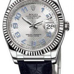 Ремонт часов Rolex 116139 silver Datejust White Gold в мастерской на Неглинной