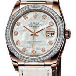 Ремонт часов Rolex 116185 White MOP D Datejust 36mm Steel and Everose Gold в мастерской на Неглинной