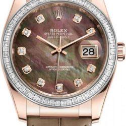 Ремонт часов Rolex 116185 dark Datejust Ladies Pink Gold - Diamond Bezel в мастерской на Неглинной