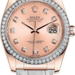 Ремонт часов Rolex 116185 rose Datejust Ladies Pink Gold - Diamond Bezel в мастерской на Неглинной