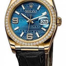 Ремонт часов Rolex 116188 Blue Datejust Ladies 36mm Yellow Gold в мастерской на Неглинной