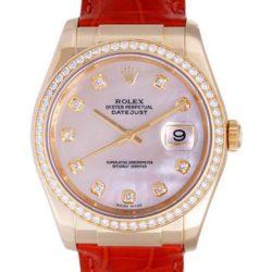 Ремонт часов Rolex 116188 White MOP D Datejust 36mm Yellow Gold в мастерской на Неглинной