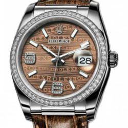 Ремонт часов Rolex 116189 Bronze Datejust Ladies 36mm White Gold в мастерской на Неглинной