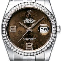 Ремонт часов Rolex 116244 Brown Floral Jubilee Datejust Ladies 36mm в мастерской на Неглинной