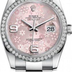 Ремонт часов Rolex 116244 pink Datejust Ladies 36 mm в мастерской на Неглинной