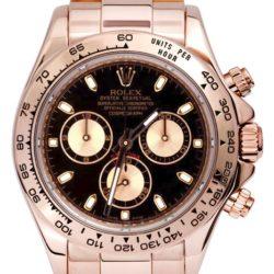 Ремонт часов Rolex 116505 Black Daytona Cosmograph 40 mm Everose Gold в мастерской на Неглинной