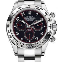 Ремонт часов Rolex 116509 black dial Daytona Cosmograph WG в мастерской на Неглинной