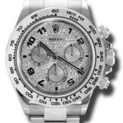 Ремонт часов Rolex 116509 pave Daytona cosmograph в мастерской на Неглинной