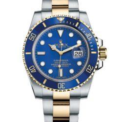 Ремонт часов Rolex 116613LB Submariner Steel and Yellow Gold Ceramic в мастерской на Неглинной