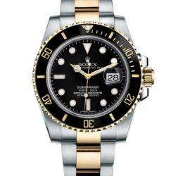 Ремонт часов Rolex 116613LN Submariner Steel and Yellow Gold Ceramic в мастерской на Неглинной