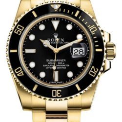 Ремонт часов Rolex 116618LN Submariner Date Yellow Gold в мастерской на Неглинной