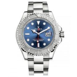 Ремонт часов Rolex 116622 Blue Yacht Master II 40mm Platinum and Steel в мастерской на Неглинной