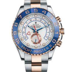 Ремонт часов Rolex 116681 White Yacht Master II RG Steel в мастерской на Неглинной