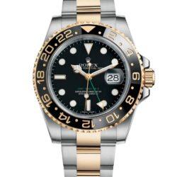 Ремонт часов Rolex 116713LN GMT-Master II Steel and Yellow Gold в мастерской на Неглинной