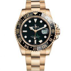 Ремонт часов Rolex 116718LN-Black GMT-Master II 40mm Yellow Gold в мастерской на Неглинной