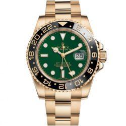 Ремонт часов Rolex 116718LN GMT-Master II 40mm Yellow Gold в мастерской на Неглинной