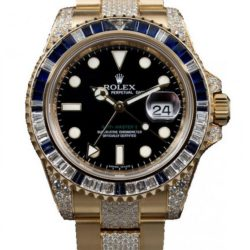 Ремонт часов Rolex 116758SA Oysterlock Karat GMT-Master II 40mm Yellow Gold Jewellery в мастерской на Неглинной