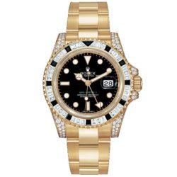 Ремонт часов Rolex 116758SANR GMT-Master II 40mm Yellow Gold в мастерской на Неглинной