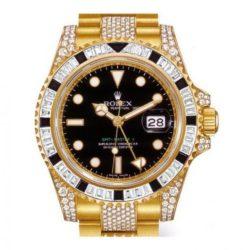 Ремонт часов Rolex 116758SANR Oysterlock Karat GMT-Master II 40mm Yellow Gold Jewellery в мастерской на Неглинной