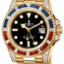 Ремонт часов Rolex 116758SARU GMT-Master II 40mm Yellow Gold в мастерской на Неглинной