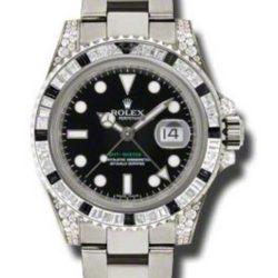 Ремонт часов Rolex 116759SANR GMT-Master II 40mm White Gold Jewellery в мастерской на Неглинной