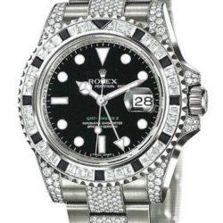 Ремонт часов Rolex 116759SANR Oysterlock Karat GMT-Master II 40mm White Gold Jewellery в мастерской на Неглинной