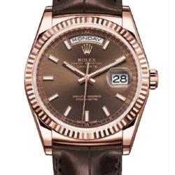 Ремонт часов Rolex 118135-chocolate Day-Date Everose Gold в мастерской на Неглинной