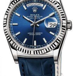 Ремонт часов Rolex 118139 blue Day-Date White Gold в мастерской на Неглинной
