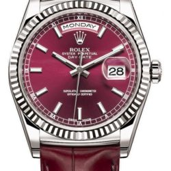Ремонт часов Rolex 118139-cherry Day-Date White Gold в мастерской на Неглинной