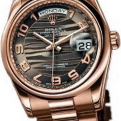 Ремонт часов Rolex 118205 bronze Day-Date Everose Gold в мастерской на Неглинной