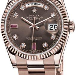 Ремонт часов Rolex 118205 chodro Day-Date Everose Gold в мастерской на Неглинной