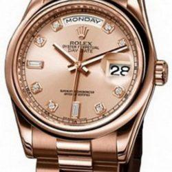 Ремонт часов Rolex 118205 pink diamonds Day-Date Everose Gold в мастерской на Неглинной