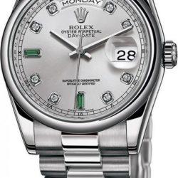 Ремонт часов Rolex 118206 Day-Date Platinum в мастерской на Неглинной
