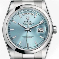 Ремонт часов Rolex 118206 Ice Blue Day-Date Platinum в мастерской на Неглинной