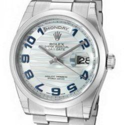 Ремонт часов Rolex 118206 Ice Blue Waves Day-Date Platinum в мастерской на Неглинной