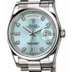 Ремонт часов Rolex 118206 blue diamonds Day-Date Platinum в мастерской на Неглинной