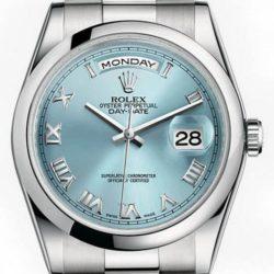 Ремонт часов Rolex 118206 glarp Day-Date Platinum в мастерской на Неглинной