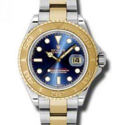 Ремонт часов Rolex 16623 Blue Yacht Master II 40mm Steel and Yellow Gold в мастерской на Неглинной