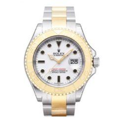 Ремонт часов Rolex 16623 White Yacht Master II 40mm Steel and Yellow Gold в мастерской на Неглинной