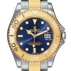 Ремонт часов Rolex 168623 Blue Yacht Master II Yacht-Master 35mm Steel and Yellow Gold в мастерской на Неглинной