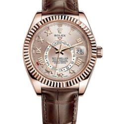 Ремонт часов Rolex 326135 Sundust Roman Sky-Dweller 42 mm Everose Gold в мастерской на Неглинной